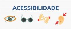 Ícones sobre acessibilidade